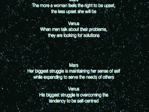 Men Are From Mars, Women Are From Venus Summary - John ...