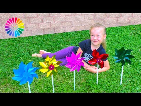 Thumbnail: Learn Colors and Numbers for Kids with Color Aerial spinner Finger Family Song Educational FunToysSh