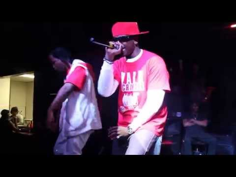 D.P. performing with Rudeboy Rob Marley and K.P. (CHMG/OFF THE WALL)