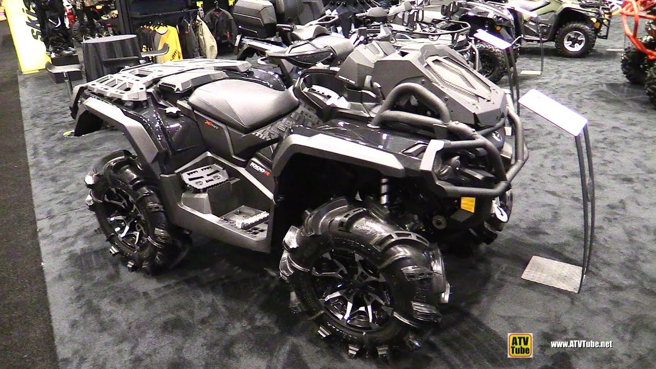 2017 Can Am Outlander X Mr 1000r Recreational Atv Walkaround 2016 Aimexpo Orlando You