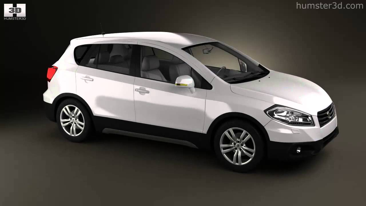 Suzuki SX4 2014 by 3D model store Humster3D.com - YouTube