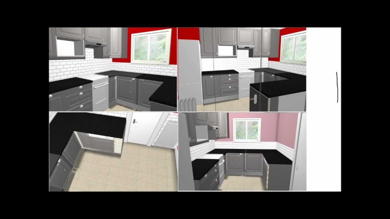 Conception installation devis pose cuisine ikea for Cuisine 3d max
