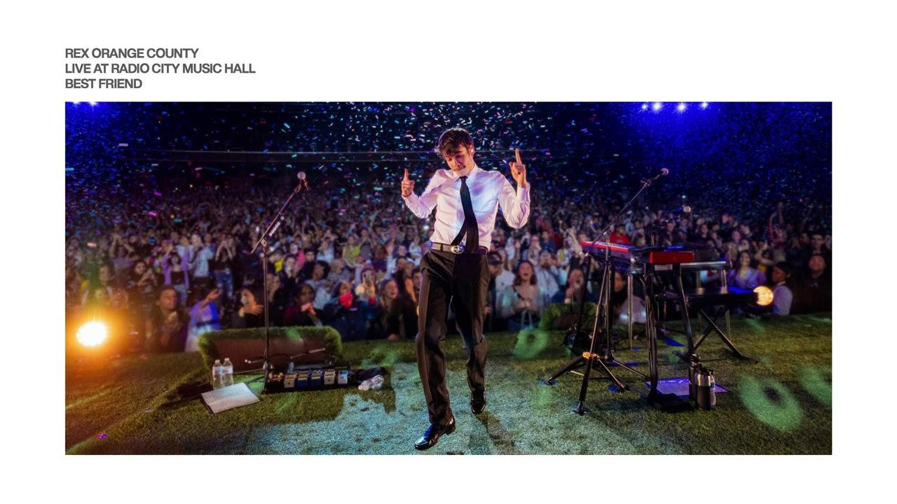 Rex Orange County - Best Friend (Live At Radio City Music Hall)