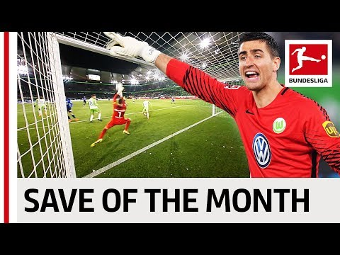 Greatest Save of the Month - March - 2017/18 Season