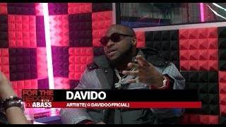 DAVIDO on For The Record with Dj Abass (PT1)