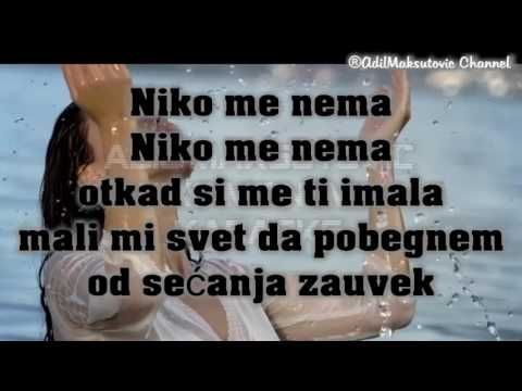 Adil - Niko me nema [Karaoke] 2017
