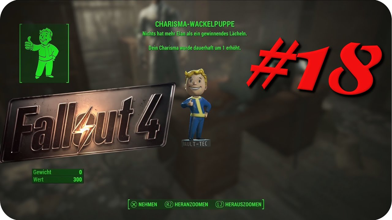 Fallout 4 Wackelpuppen Karte.Fallout 4 Charisma Wackelpuppe 18 Ger Hd Charisma Bobblehead