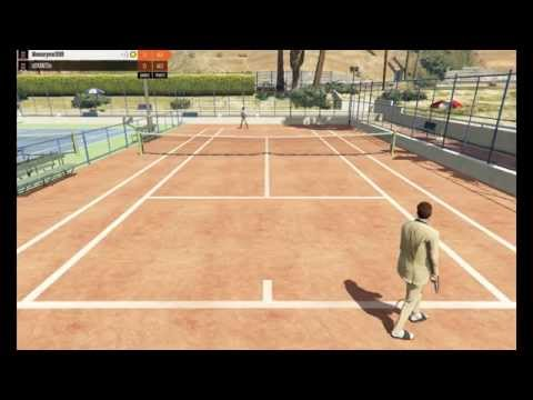 GTA V Online Part.1 : ชิงแชมป์เทนนิส