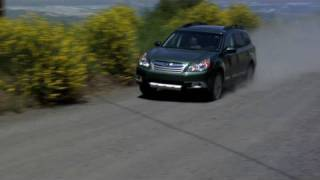2010 Subaru Outback on Street and Dirt