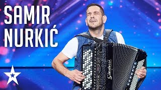 Download Samir Nurkić gives a ride through music styles│Supertalent 2018│Auditions Mp3 and Videos