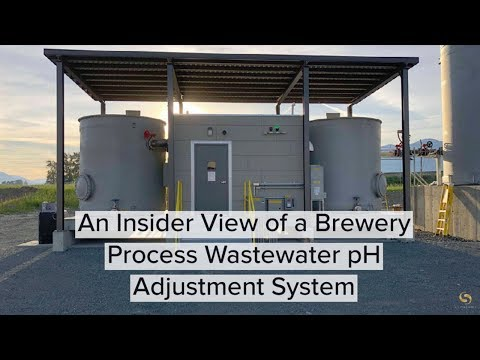 An Insider View Of A Brewery Process Wastewater PH Adjustment System With Symbiont Fabrication