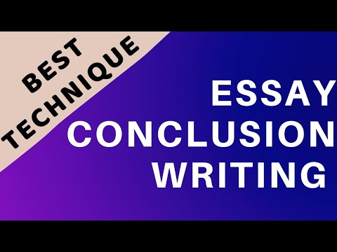 Essay Conclusion Writing | How To Write Conclusion Of Essay | Essay Writing CSS Part 8 Essay