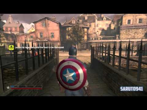 Captain America Super Soldier Play Through Part 17 Final Boss and Ending