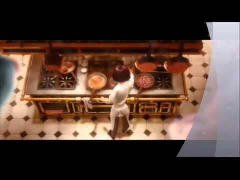 Organograma da cozinha. Filme Ratatouille