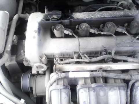 Стук двигателя 1.8 бензиновый 125 л/с Форд Фокус 2. 95 тыщ км пробега