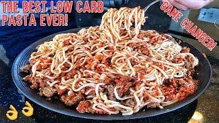 Healthy Low Carb Bodybuilding Pasta Recipe   GAMECHANGER!!