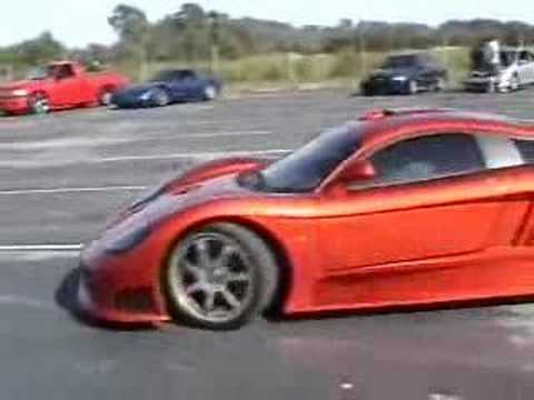 Saleen S7 at local track