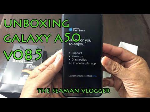 V085 UNBOXING SAMSUNG A50 # SAMSUNGA50 #THESEAMANVLOGGER #GALAXYA50