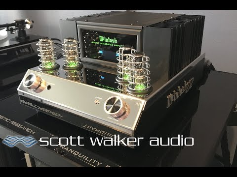 McIntosh MA252 Integrated unboxing & first listen with Elac Adante speakers