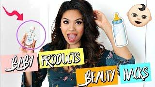 Baby Products Beauty Hacks | Belinda Selene