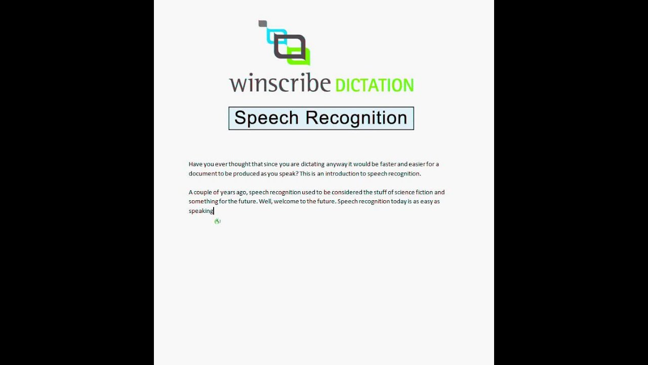 Best Speech Recognition | Voice Recognition System | Winscribe