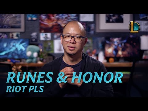 Runes Reforged and Honor Update | Riot Pls - League of Legends
