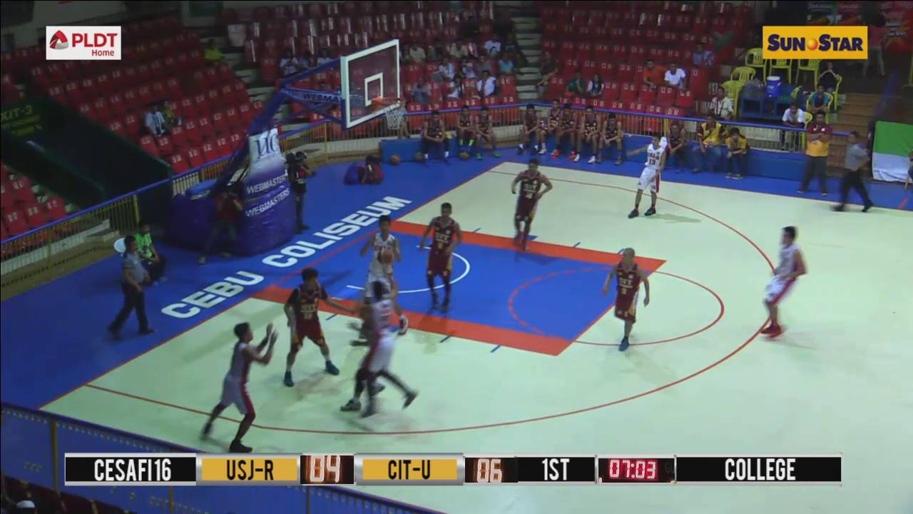 usj r jaguars vs cit u wildcats 08 16 2016 youtube