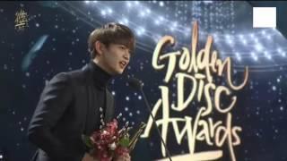 170114 인피니트(INFINITE) + 샤이니 민호(Shinee's Minho)  Bonsang Award + Speech