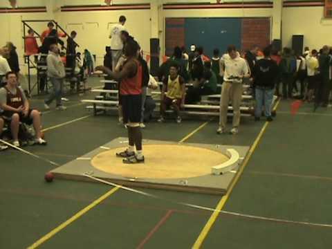 Freshman Justin Bishop P.R. 39.0 gives him the gold