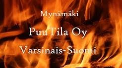 PuuTila Oy rakensi tehokkaan puukuivaamon polttopuiden ympärivuotiseen kuivattamiseen.
