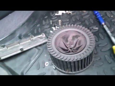 Nissan primera p12 печка дует холодным