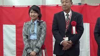 20181101 髙橋彩香(AKB48 Team8) 松本南郵便局一日局長 年賀はがき発売セレモニー