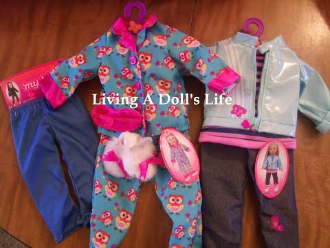 *Opening* My Life Doll Bed + Clothes