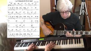 I Let A Song Go Out Of My Head - Jazz guitar & piano cover ( Duke Ellington ) Yvan Jacques