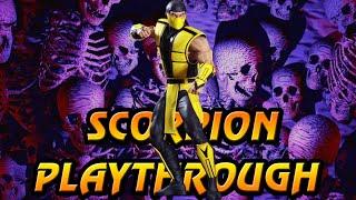 Ultimate Mortal Kombat 3 Arcade Scorpion Playthrough @720p 60fps thumbnail