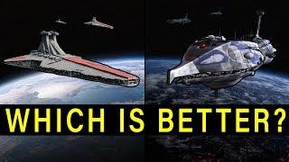 VENATOR Star Destroyer vs. PROVIDENCE Cruiser -- Which Capital Ship is Better? | Star Wars Versus