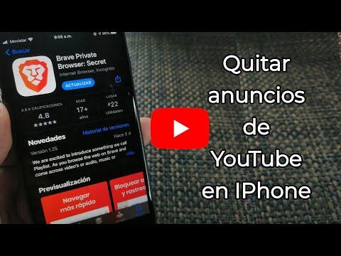 Ver YouTube sin anuncios en IOS | No YouTube vanced | Brave