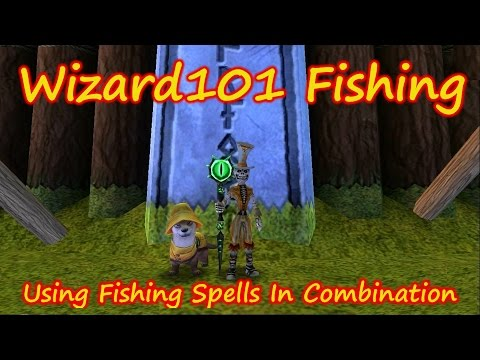 Wizard101: Fishing  - Using Fish Spells In Combination For Better Results