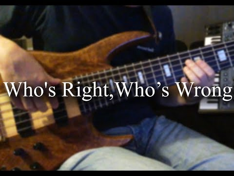 【cover】Who's Right, Who's Wrong / Pages