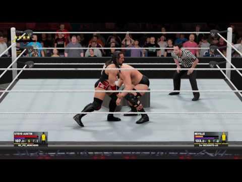 WWE 2K17 XGW Steve Austin vs Neville X Factor Championship