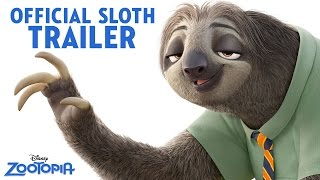 Zootopia Official US Sloth Trailer(The new trailer for Zootopia is here! Watch now and see the film in theatres in 3D March 4! The modern mammal metropolis of Zootopia is a city like no other., 2015-11-23T17:00:02.000Z)