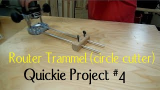 Router Circle Cutter: Re-upload (quickie Project # 4)