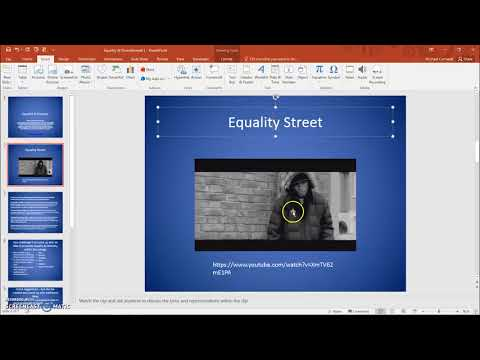 HOW TO -  Embed a YouTube Video Into Microsoft Powerpoint