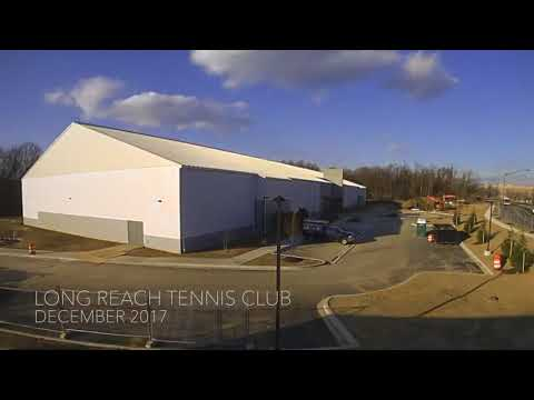 Columbia Association: December 2017 Long Reach Tennis Club Construction