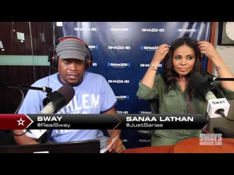 Thumbnail: Sanaa Lathan Interview: Who the Better Kisser Is Between Morris Chestnut & Michael Ealy