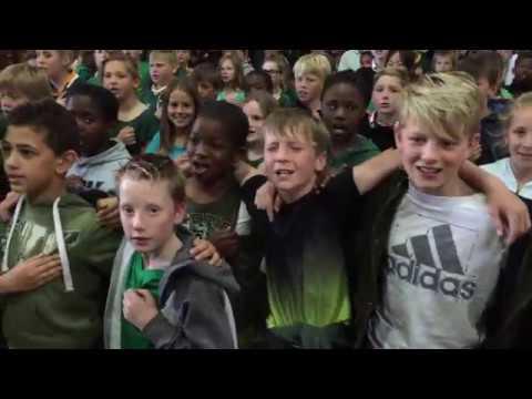 Fish Hoek Primary School Backing The Boks!