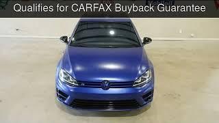 2015 Volkswagen Golf R AWD  Used Cars - Carrollton,TX - 2018-04-19