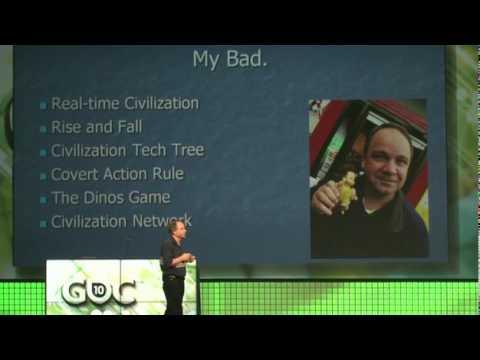 GDC 2010: Sid Meier Keynote -