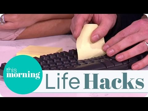 Life Hacks - How To Clean Your Keyboard
