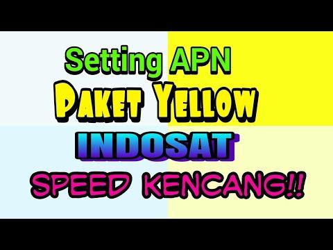Pengguna Paket Yellow Speed Kenceng! Setting APN nya!